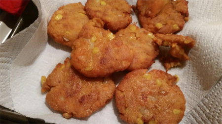 sweet potato corn cake recipe