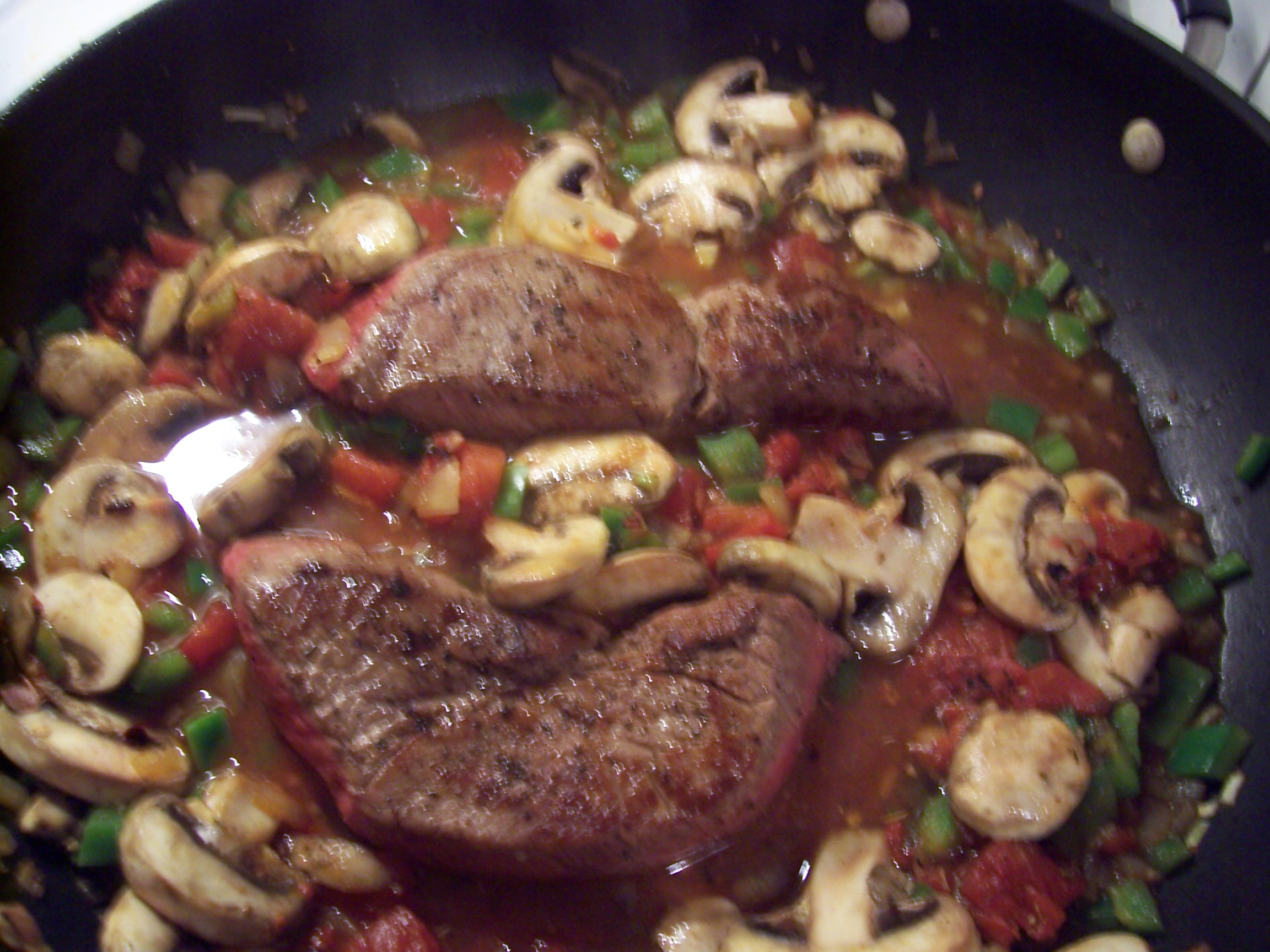 steak italian recipe